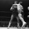 """April 9th, 1979 -- """"So You Wanna Fight"""" competition at the PNE Gardens. Referee is Dave Brown."""