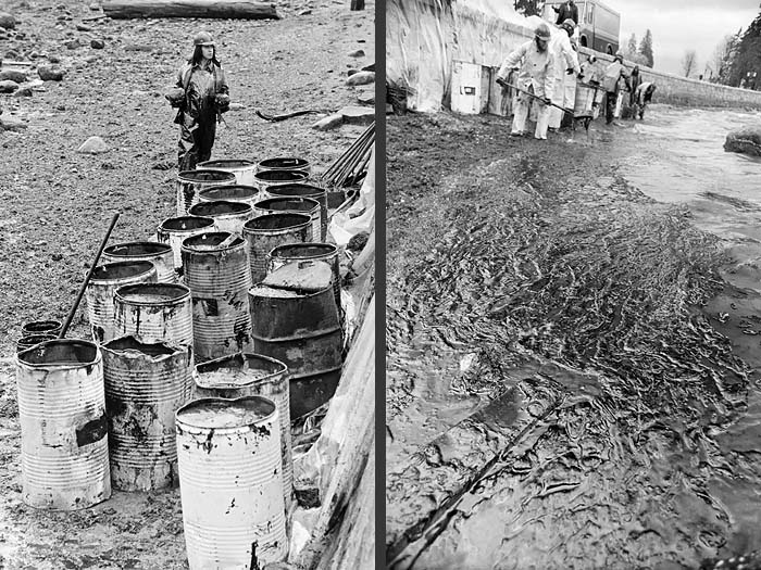 1973 Oil spill Vancouver c